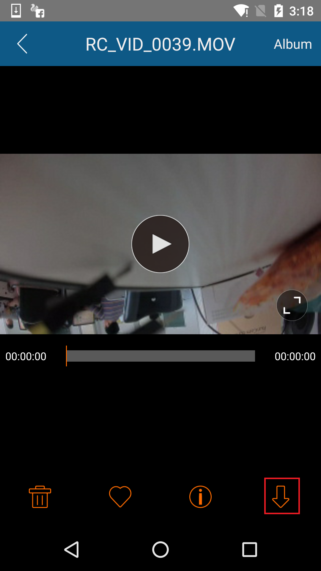 How to download video files via App? – RunCam Help Center
